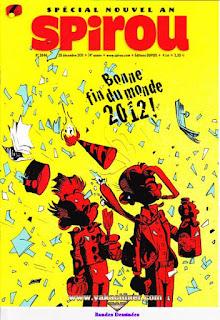Spécial nouvel an Spirou, bonne fin du monde 2012, numéro 3846, année 2011