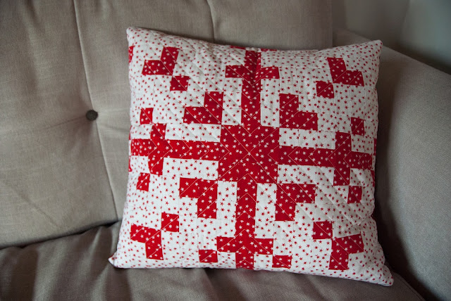 Nordic Christmas cushion