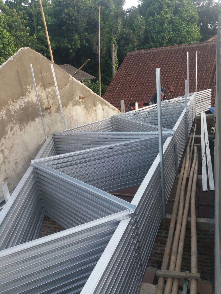 pasang baja ringan bintaro atap bsd bengkel las tangerang