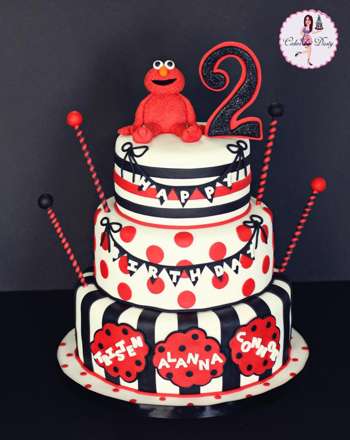 Cakes By Dusty Elmo Cake