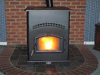 a pellet stove