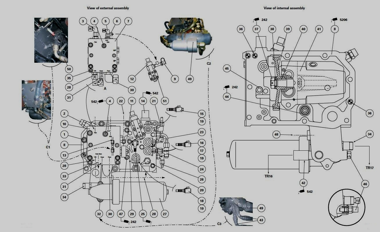 Parker Relief Valve Schematic Parker Valve Wiring
