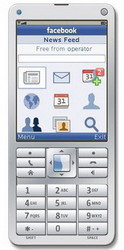 Facebook feature phone app comes with free mobile data access