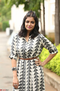 Swathi Reddy Looks super cute at London Babulu theatrical trailer launch ~  Exclusive 039.JPG