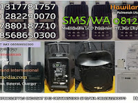 Sewa Speaker Portable Utan Kayu Utara Jakarta Timur Rental Sound System Portable Wireless