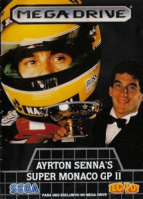 Rom de Ayrton Senna: Super Monaco GP 2 - Mega Drive em PT-BR