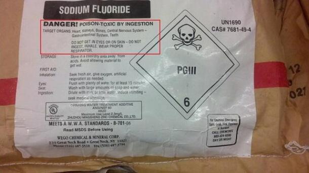 Informasi Fluoride: Notifikasi bahaya fluoride