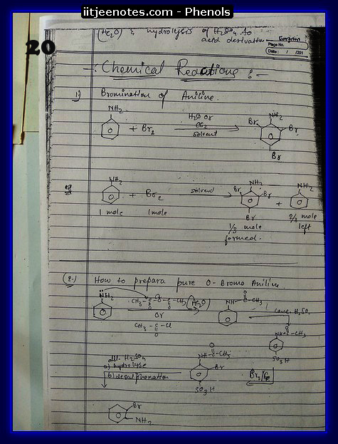 Phenol Notes 6