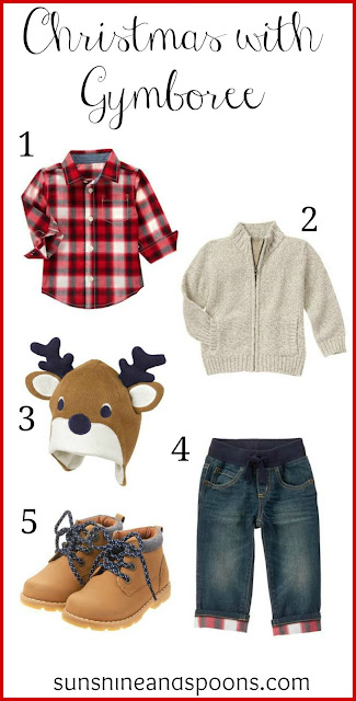 Dressing for Christmas With Gymboree
