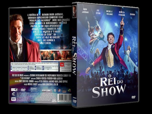 Capa DVD O Rei Do Show [Exclusiva]