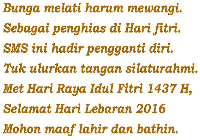 Contoh Kumpulan Ungkapan Maaf Idul Fitri Terbaru 2016