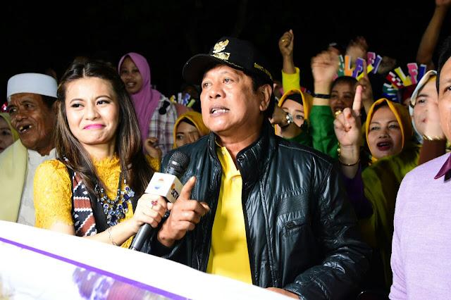 Konser Final LIDA, Bupati dan Masyarakat Soppeng Nobar di Ganra