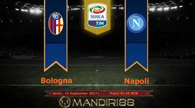 Bologna akan menjamu Napoli di pertandingan lanjutan Serie A giornata ke Berita Terhangat Prediksi Bola : Bologna Vs Napoli , Senin 11 September 2017 Pukul 01.45 WIB