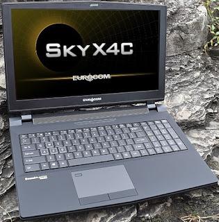 Laptop Eurocom Sky Series Berbasis Processor Intel Coffee Lake