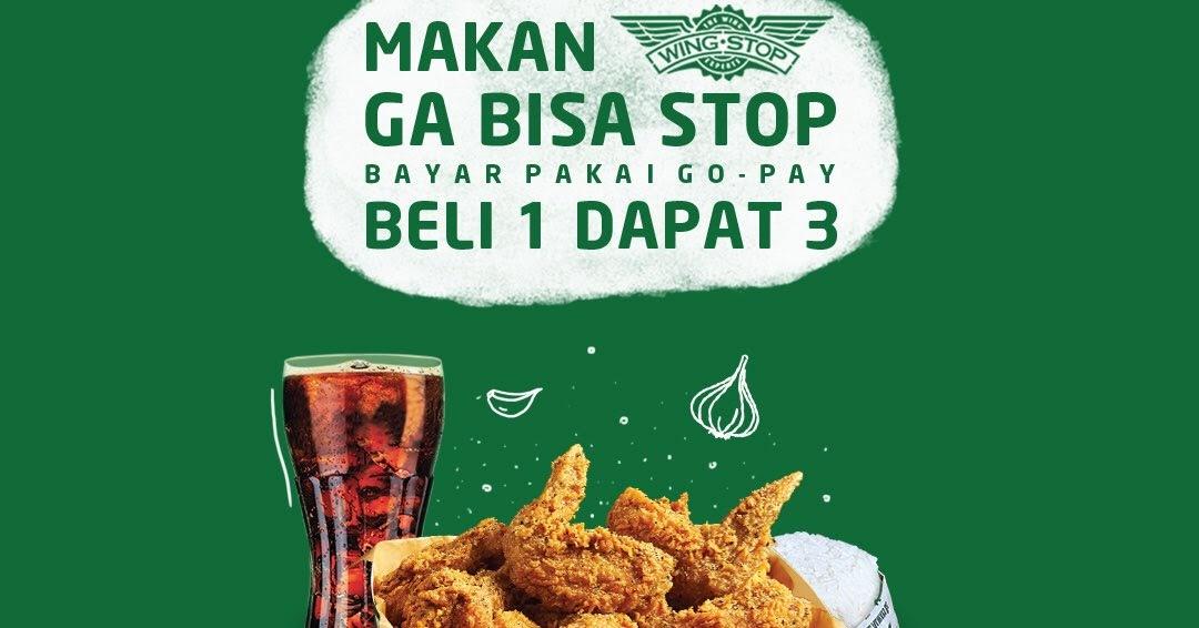 GOJEK - Promo Buy 1 Get 3 di Wing Top Pakai GOPAY (s.d 30