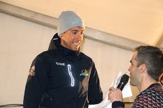 Omar Fraile ha logrado, por tercer año consecutivo, la victoria en la cronoescalada de Kastrexana a Santa Águeda