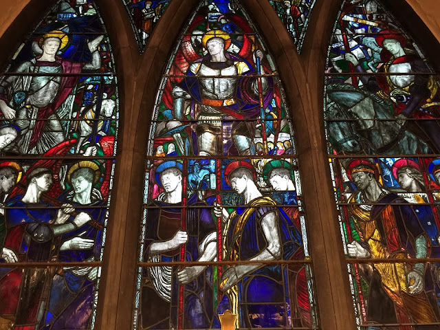 "Stained Glass window, St. Bartholomew's - ""The Governor General's church"" -  Ottawa"
