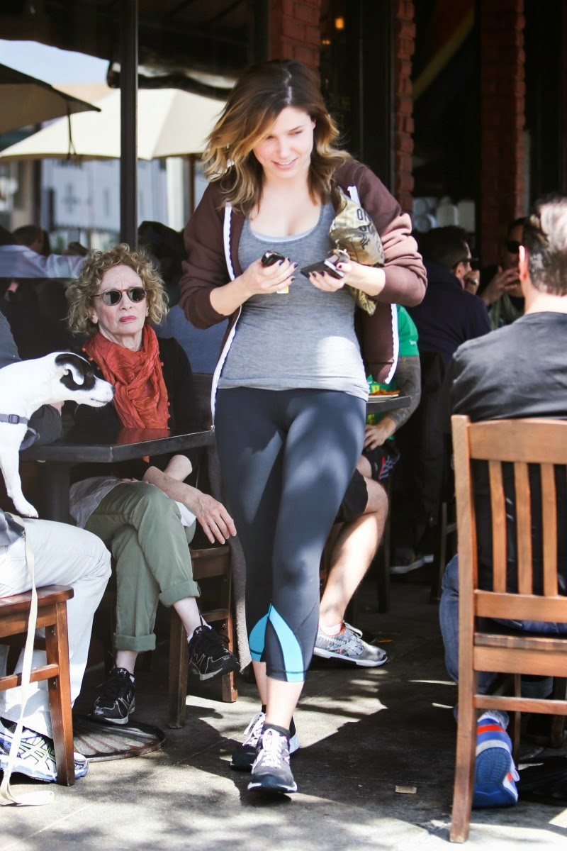Sophia Bush Massive Cameltoe At Kings Road Cafe In West
