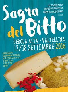 Sagra del Bitto 17-18 settembre Val Gerola (SO)