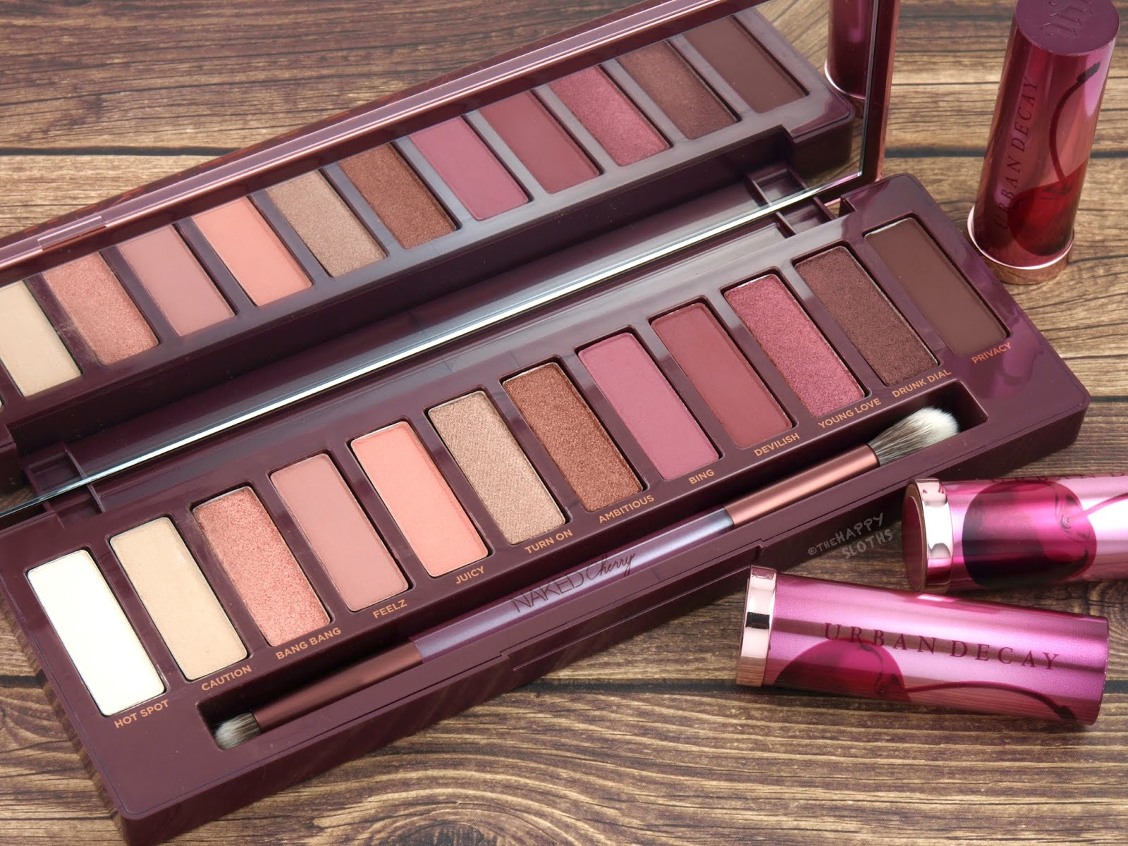 Urban Decay | Naked Cherry Eyeshadow Palette: Review and Swatches