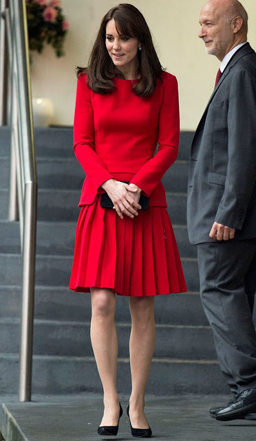 Catherine, Duchess Of Cambridge Attended The Anna Freud Centre Family School Christmas Party