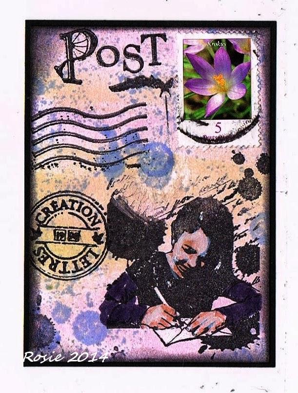Briefmarken Für Briefe : Rosie s bastelwelt briefe briefmarken letters stamps