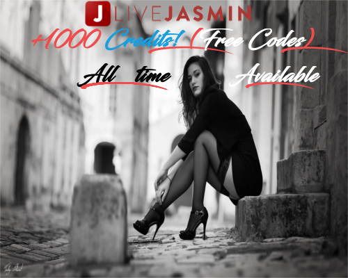 LIVEJASMIN.com +1000 Credits ! [Free Codes] All Time Available !