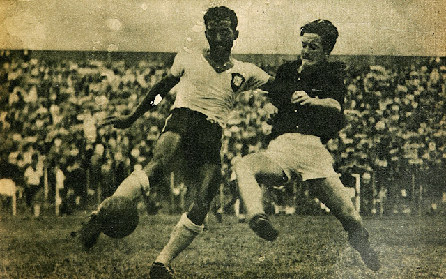 Brasil y Chile en Campeonato Sudamericano de 1946