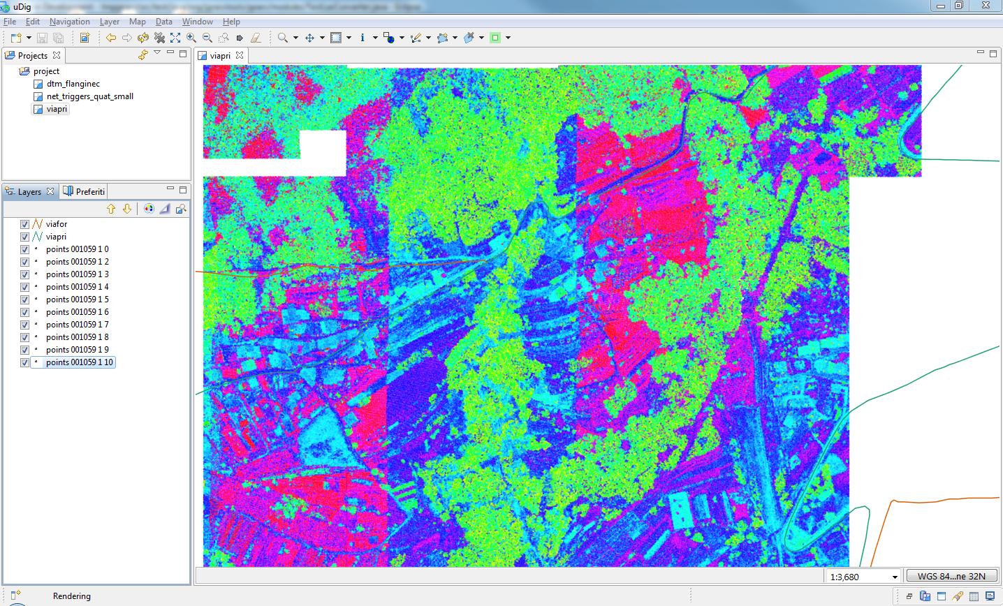 JGrass Tech Tips: LIDAR data & jgrasstools and uDig