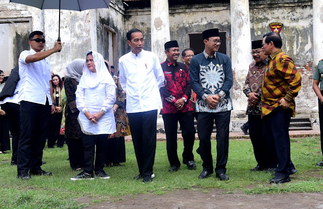 Kunjungi Benteng Van den Bosch di Ngawi, Presiden Jokowi: Tahun Ini Akan Direnovasi