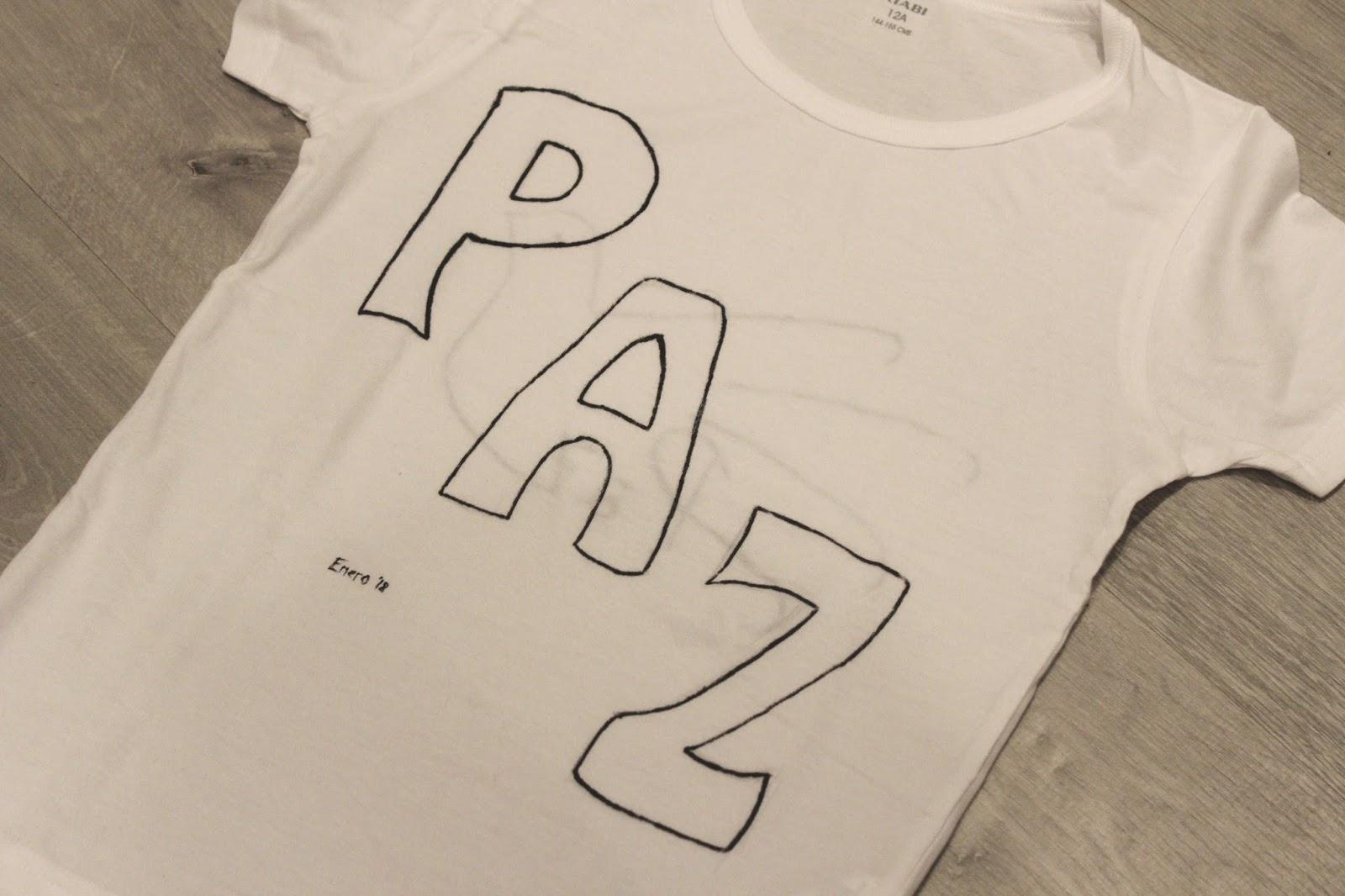 pintar-camisetas-niños