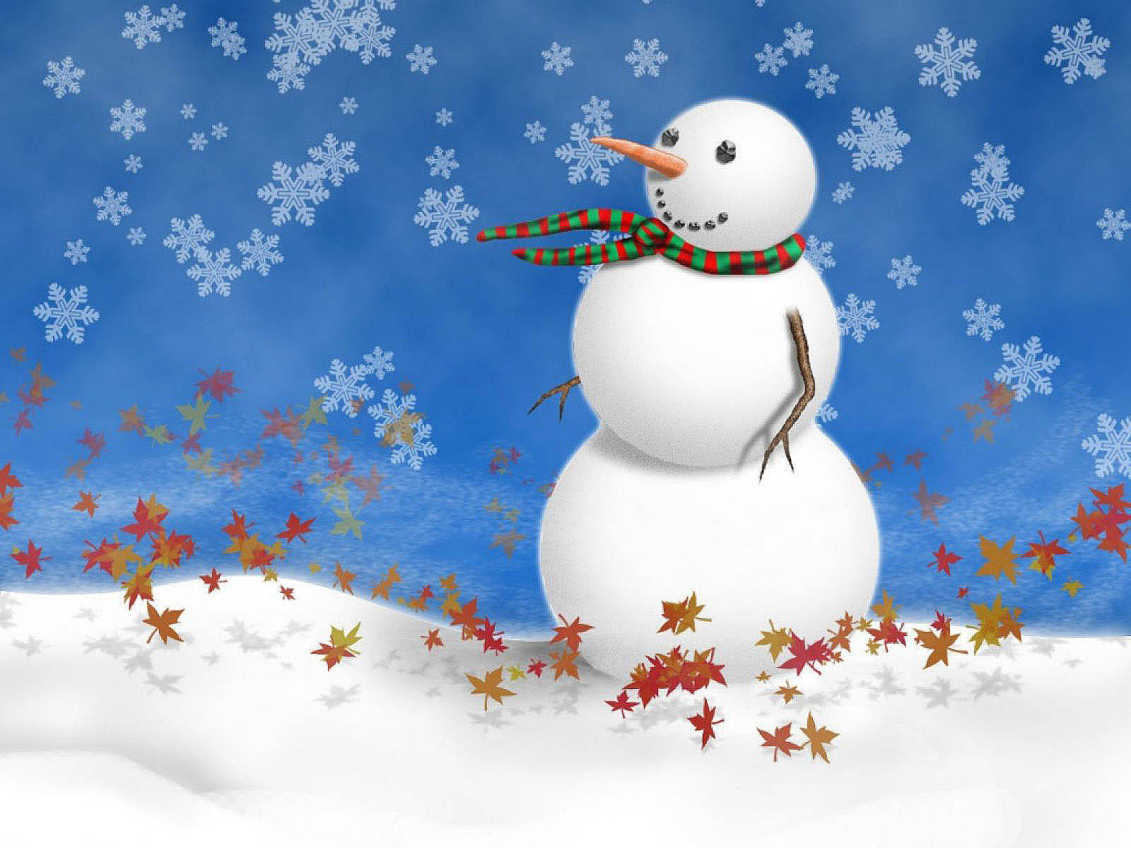 Wallpapers Snowman Desktop Wallpapers And Backgrounds