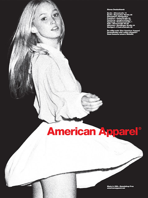 Newspaper Ads American Apparel