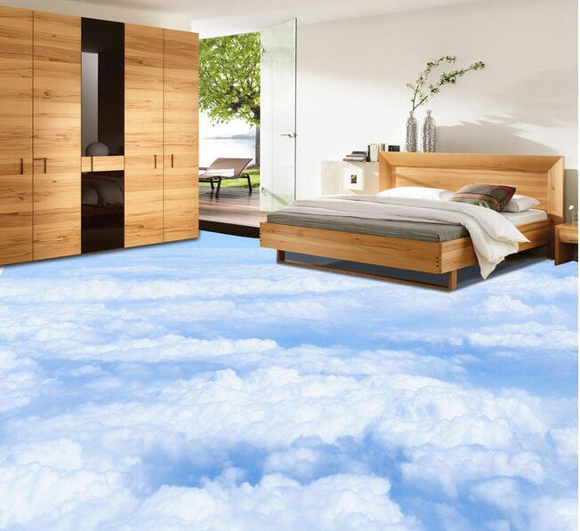 Realistic 3d floor tiles designs prices where to buy for Bedroom designs tiles