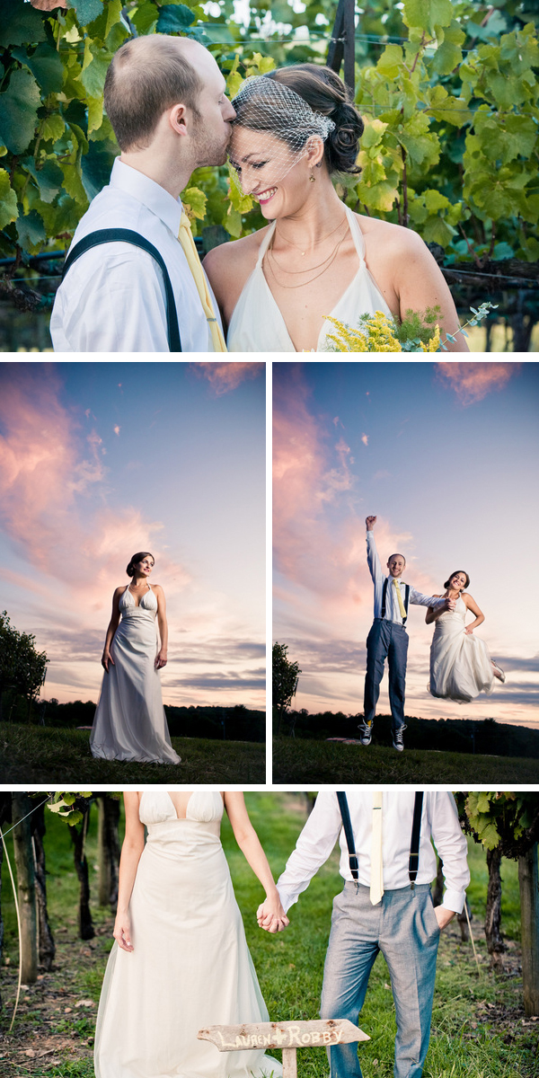 quirky and relaxed winery wedding | tin can photography