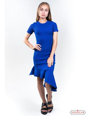 vestidos color azul bonitos