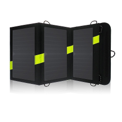 X-DRAGON High Efficency 20W Solar Panel Charger with iSolar™ Technology for iPhone, ipad, iPods, Samsung, Android Smartphones and More(iSolar Technology, Foldable, Portable)