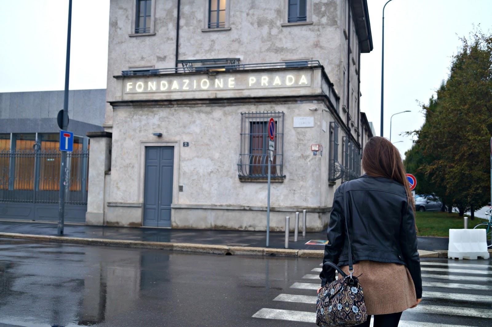 Modowa Mapa Mediolanu/Milan Fashion Map: Fondazione Prada