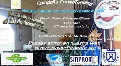 #TFcrowdfunding 2017 Cada cosita tiene su lugar EWT Círculo Waldorf Valle de Güímar