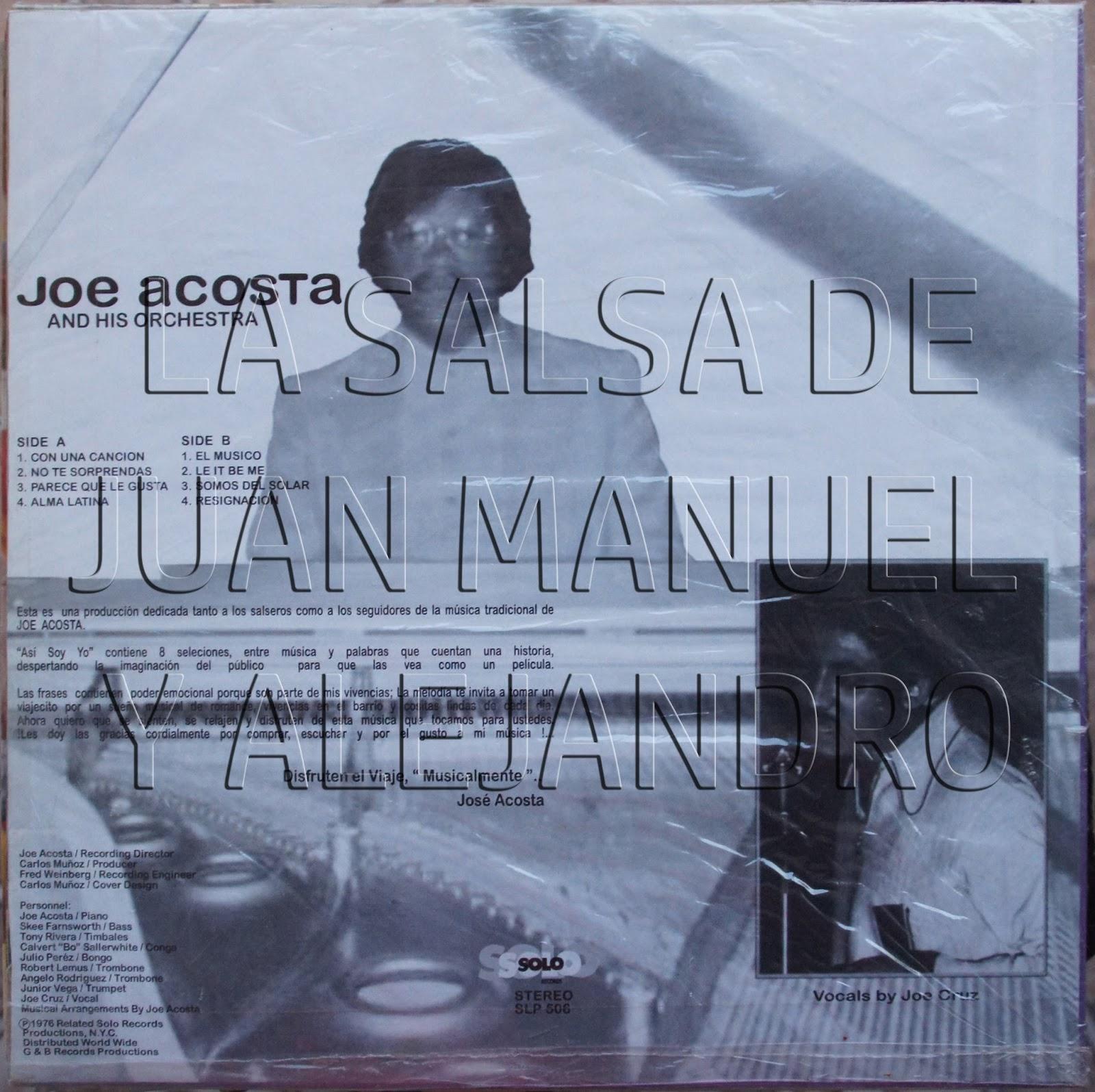 Joe Acosta And His Empresarios Joe Acosta And His Empresarios