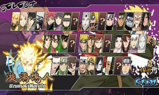 Download Boruto Senki MOD Full Characters Naruto Apk Terbaru