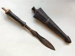Senjata-Tradisional-Dohong-dari-provinsi bengkulu