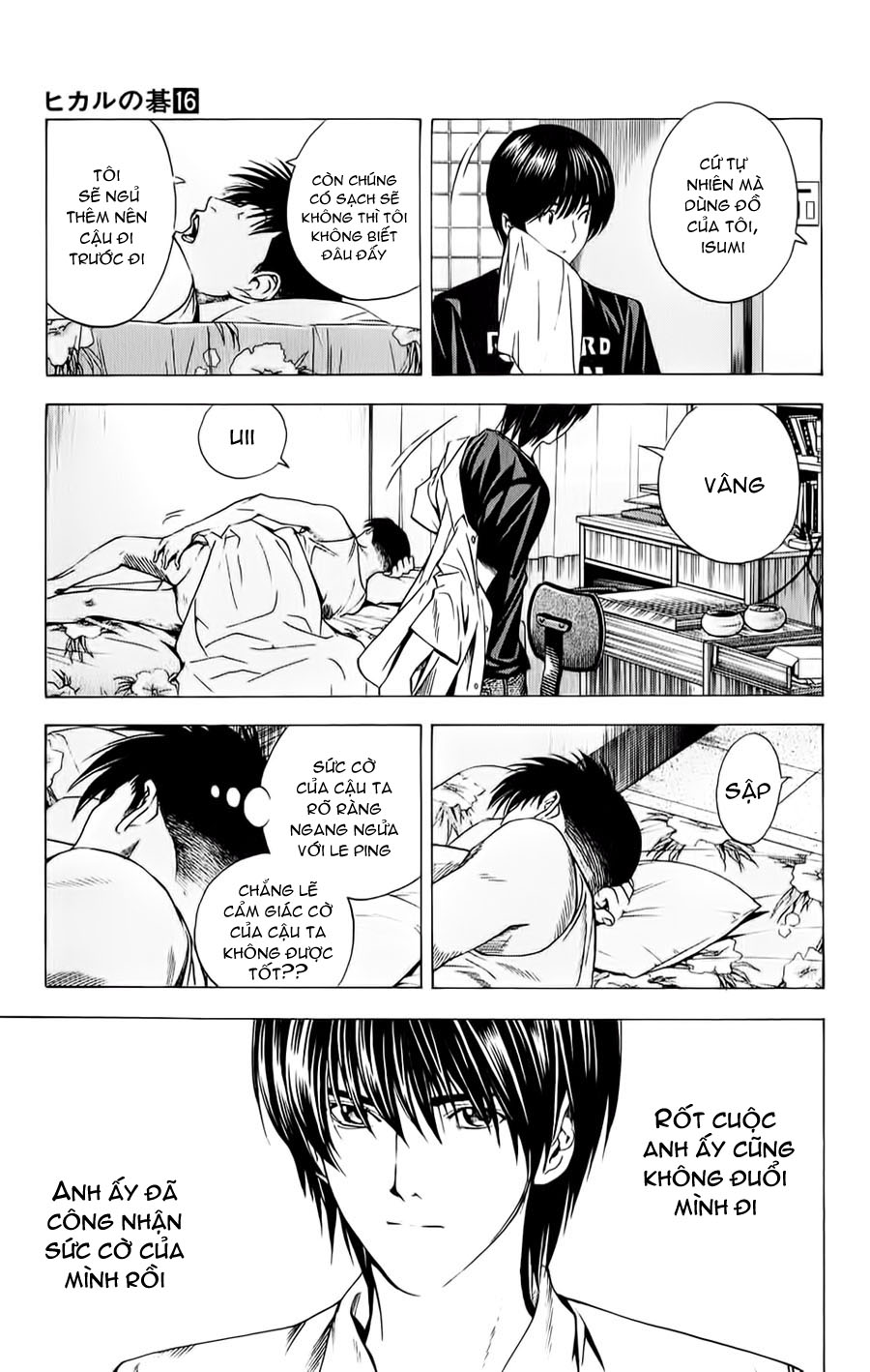 Hikaru No Go hikaru no go chap 134 trang 4