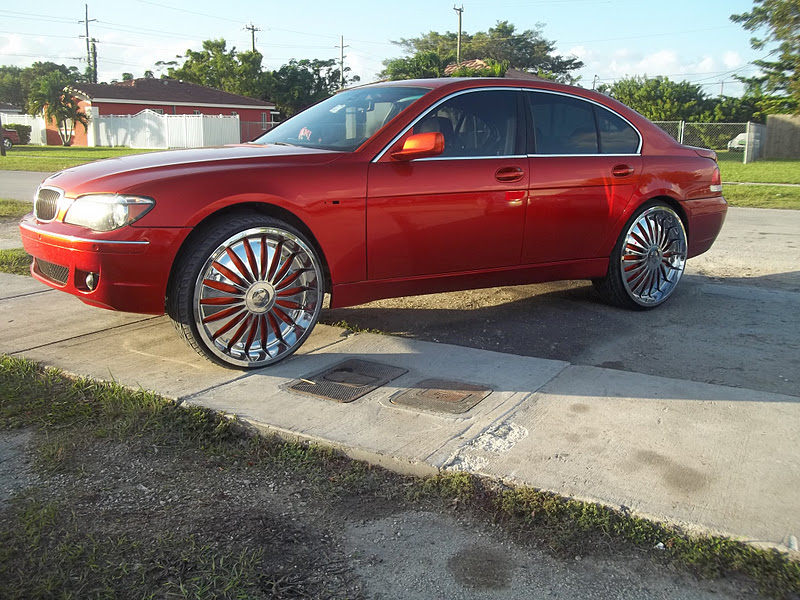 Photography By Miamiearl Bmw 7 Series On 26 Dub Zveet Floaters