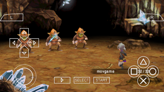 Download Final Fantasy III PPSSPP ISO High Compress Android/PC Terbaru Update 2017 Gratis
