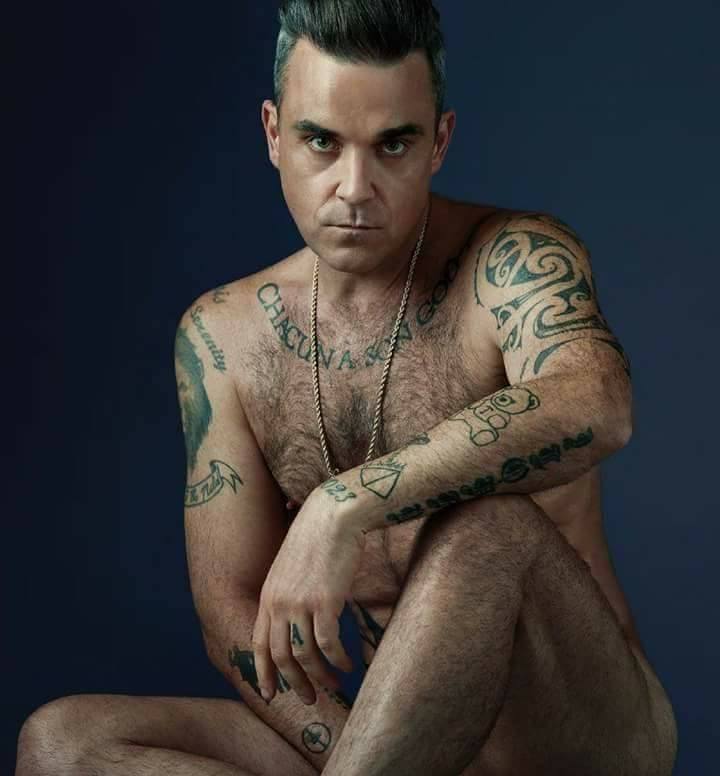 Was specially sexy robbie williams with his sexy body opinion the