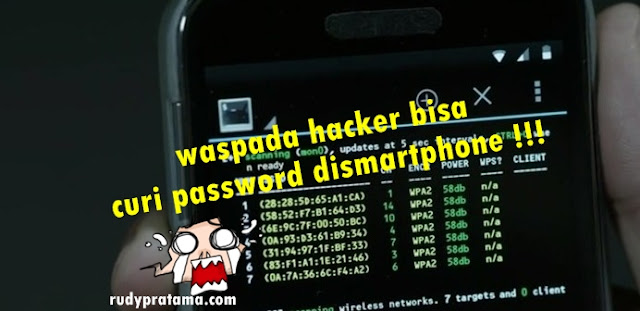 hacker bajak smartphone