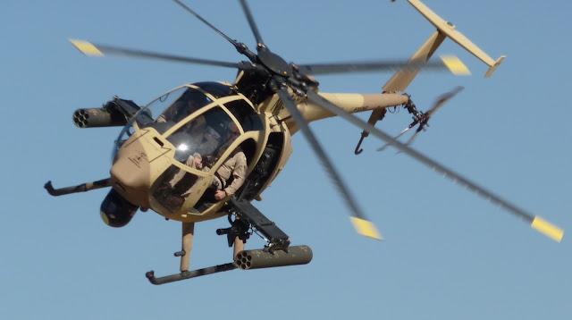US Army Boeing AH-6