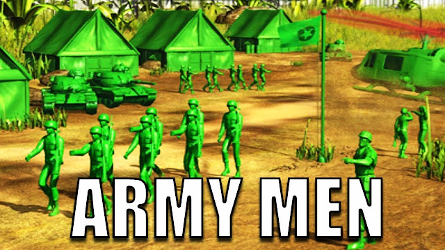 تحميل لعبة الجيش الاخضر للكمبيوتر والاندرويد برابط ميديا فاير كاملة  download army man rts