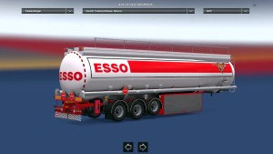 Reworked Fuel Cistern SCS trailer mod